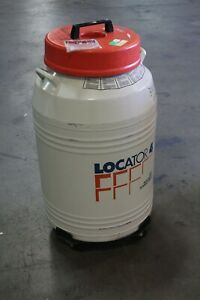 Thermolyne Locator 4 Liquid Nitrogen Storage Container Tank Dewar