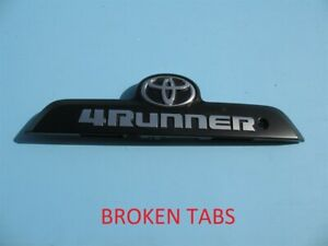 2010 2019 Toyota 4runner Rear Trunk Lid Lift Gate Hatch Trim Molding Handle Used