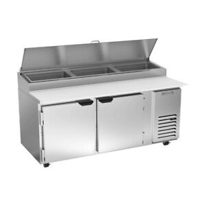 Beverage Air Dp72hc 72 Pizza Prep Table Refrigerated Counter