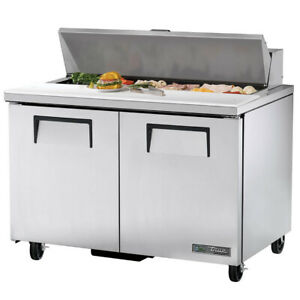 True Tssu 48 12 hc 48 Sandwich Salad Unit Refrigerated Counter