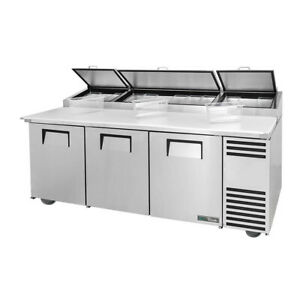 True Tpp at 93 hc 93 Pizza Prep Table Refrigerated Counter