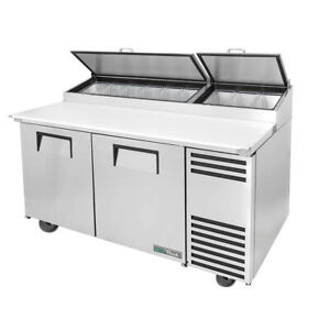 True Tpp at 67 hc 67 Pizza Prep Table Refrigerated Counter