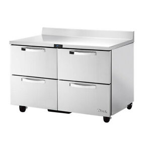 True Twt 48d 4 hc spec3 48 Work Top Refrigerated Counter