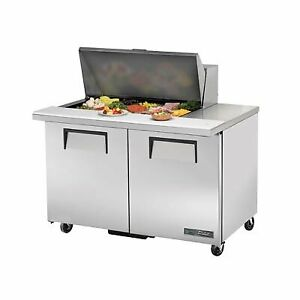True Tssu 48 15m b hc 48 Mega Top Sandwich Salad Unit Refrigerated Counter