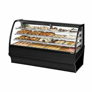 True Tdm dc 77 ge ge s s 77 Non refrigerated Bakery Display Case