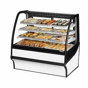 True Tdm dc 48 ge ge w w 48 Non refrigerated Bakery Display Case