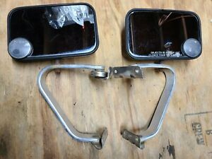 Oem Toyota Hilux Pickup Chrome Side View Chrome Towing Mirror Set Right