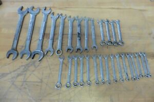 Lot Craftsman Wrenches Sets Of 29 Metric And Usa Large Small Large Lot