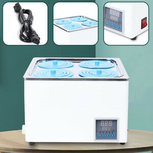 Four Pot Constant Temperature Water Bath digital Led Display 4 3l lab Equipment