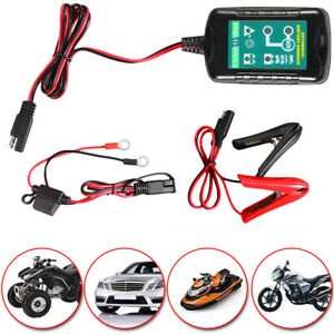 6v12 Volt Trickle Battery Charger Maintainer Car Truck Motorcycle Mower 50 60hz