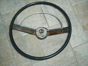 Vintage 1969 Ford Fairlane Steering Wheel 16 Inches