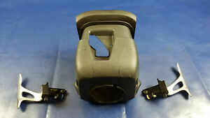 09 20 Nissan 370z Steering Column Shroud Cover W Paddle Shifter Pair 56632