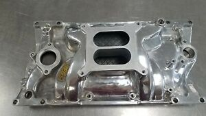 Sbc Chevy Jegs Intake Manifold For 1996 2002 Vortec L31 Heads Polished