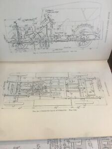 Original 1922 Chassis Auto Early Engineering Antique Vintage Auto Oem Diagr