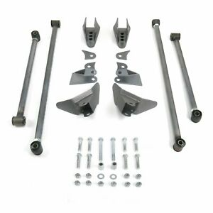 Universal Streetrod Triangulated Rear Four 4 link Kit 4 Bar Kit Fits Coilovers V
