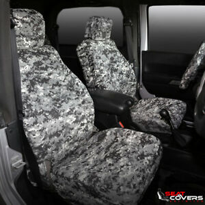 Custom Fit Camo Front Bucket Seat Covers For The 2020 Toyota Tacoma