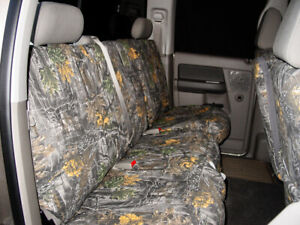 Custom Camo Front Bench Seat Covers For The 2005 2014 Toyota Tacoma Single Cab
