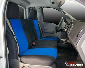 Custom Fit Neoprene Front Seat Covers For The 1997 2003 Ford F 150