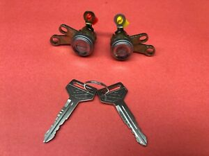 1992 1996 Toyota Camry Fl Fr Door Lock Cylinder Set Matched 2 Keys New