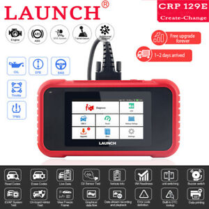 Launch 129e Diagnostic Tool Obd2 Scanner Abs Srs Engine Diagnostic Code Reader