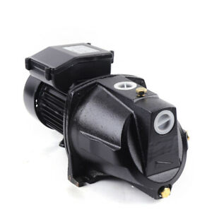 1 Hp Shallow Well Water Jet Pump 750w 17 5gpm 110v Self priming Pump For Garden