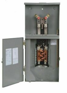 Siemens Mc0816b1200rct 8 Space 16 Circuit 200 Amp Main Breaker Meter Combination