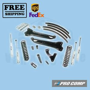 Pro Comp Lift Kit 6 Stage Ii W Es Shocks Blocks 08 10 Ford F250 F350 4wd Diesel