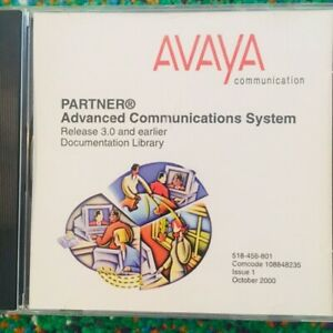 Avaya Partner Advanced Communications System Release 3 0 Documentation Library