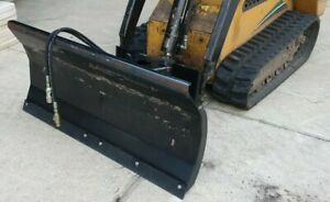48 Toro Dingo Mini Skid Steer Hydraulic 4 Way Dozer Blade Dirt Pusher Snow Plow