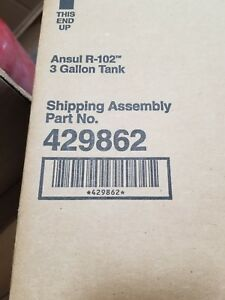 Ansul Part 429862 3 Gallon Stainless Steel Tank