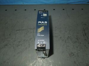 Puls Dimension Cs3 Power Supply 100 240v Input 24 28vdc Output Used