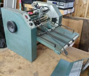 Baumfolder 714 Table Top Air Feed folder Ultrafold Ii