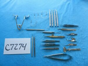 Aesculap Storz Surgical Ophthalmic Instruments