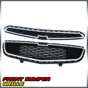 For Chevrolet Cruze 2015 Front Bumper Middle Upper Lower Honeycomb Grille