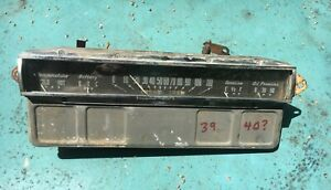 1939 Cadillac Lasalle Gauge Cluster Instrument Panel