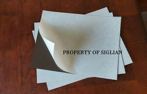2 Sheets Of 9 X 12 Self Adhesive Magnet 23 Mil art And Craft Etc