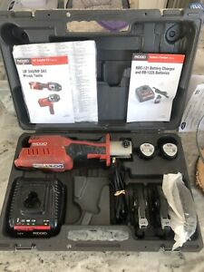 Ridgid Rp 241 Compact Press Tool Kit Crimper Copper Propress 210 330 340 200