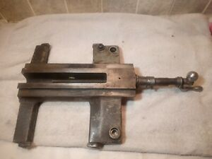 Vintage Atlas Craftsman 10 12 Inch Lathe Carriage Cross Slide Saddle 10f 9