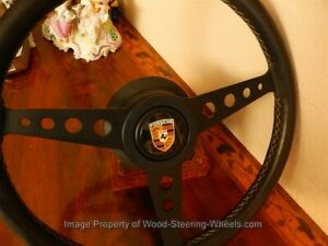 Vintage Steering Wheel For Porsche 911 Made 2 1970 Personal Nardi Prototipo 50y