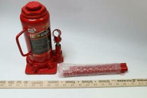 Pack Of 1 Big Red 12 Ton Hydraulic Bottle Jack