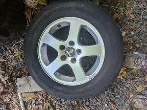 Saab 9 3 93 2003 2006 15 Wheel Alloy Compare Picture One Fifteen Inch