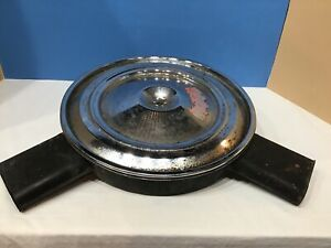 Original Gm 1970 72 Camaro Z 28 4 Barrel Dual Snorkel Air Cleaner 350 Turbo Fire