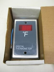 New Ncc Ametek Tnc tm200 120 f Led Digital Thermometer Temperature Indicator