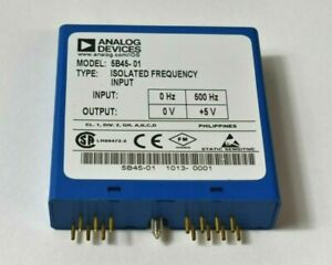 Analog Devices 5b45 Isolated Frequency Input 5b45 01
