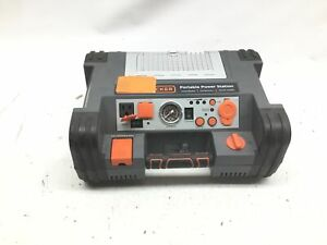 Black decker Pprh5b Portable Power Station Jump Starter 1000peak 450 Instant Am