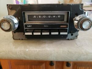 1970s Gm Delco Vintage Used Am Radio 8 Track Player Chevy Chevrolet Camaro