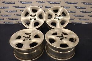 1996 Acura Integra Coupe Gsr 1 8l Optima Wheel Set 15x7 curb Rash 4446