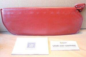 1973 To 1987 Chevy Gmc Truck Suburban Sun Visor Right Side Burgundy P n 6264270