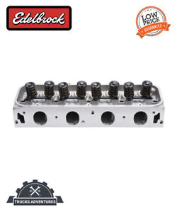 Edelbrock 60665 Performer Series Rpm 460 Cylinder Head