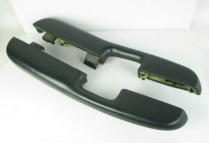 Chevy Silverado 1500 Gmc Sierra Truck Manual Door Arm Rest Dark Gray Set 99 06